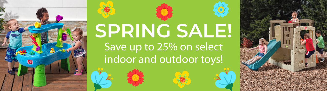 Shop the Step2 Spring Sale